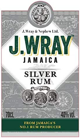 J. Wray & Nephew Jamaica Plata Ron - 700 ml: Amazon.es ...