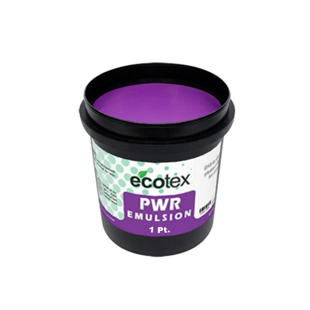 Ecotex PWR - Pre-Sensitized Water Resistant Screen Printing Emulsion (1 Pint) Screen Print Direct