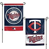 "Minnesota Twins Garden Flag - 11""x15"""