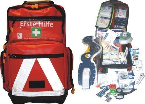 Erste Hilfe Notfallrucksack für Segelboot, Motorboot, Wassersport