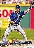#8: 2018 Topps #304 Whit Merrifield Kansas City Royals Baseball Card