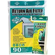 Air Vent Filters / Floor Vent Filters / Register Vent Filters and Cut to Fit Return Air Vent Filter (90 days)