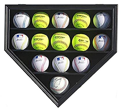 Display Cases Autographs-original Baseball Hockey Puck Display Case Sturdy Construction