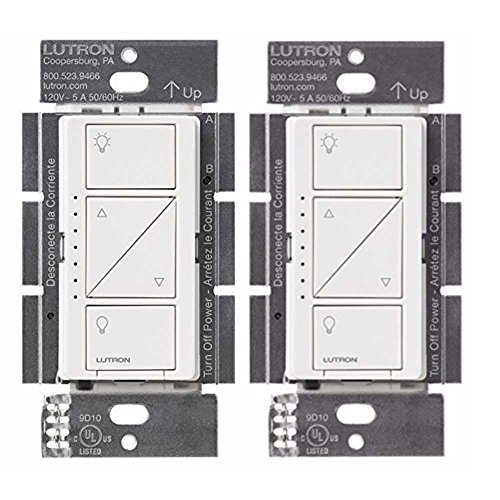 (Lutron PD-10NXD-WH Caseta Pro In Wall Dimmer 250W LED (2 Pack))