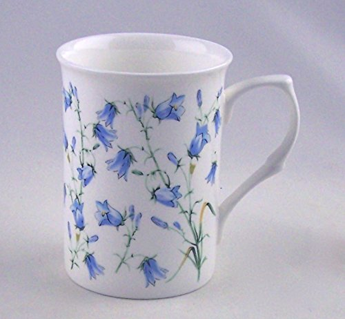 England Fine China Bone (Harebell (Bluebell) Chintz - Fine English Bone China Mug - England)