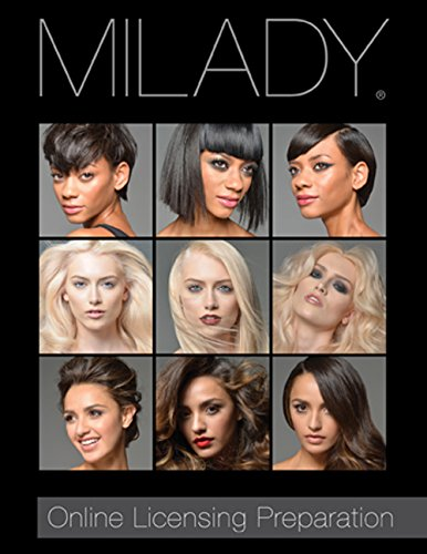 Online Licensing Preparation: Milady Standard Cosmetology Printed Access Card