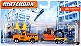 Matchbox Hitch N Haul Constuction Truck & Excavator