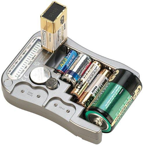 tka Köbele Akkutechnik Digitaler Profi-Batterietester mit LCD-Anzeige