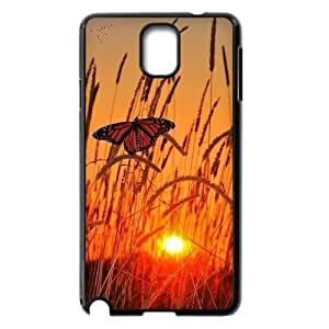 Customized Durable Case for Samsung Galaxy Note 3 N9000, Butterfly Phone Case - HL-R666989