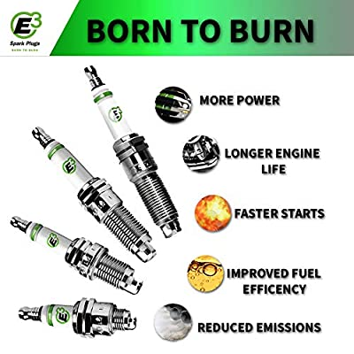 E3 Spark Plug E3.74 Automotive Spark Plug, Pack of 1: Automotive