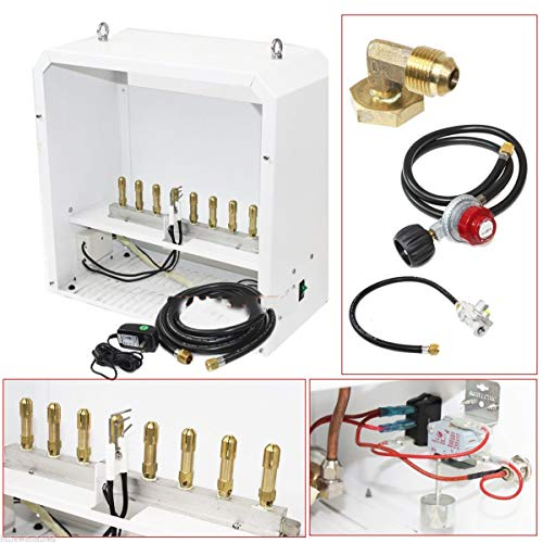 - KCHEX>New Hydroponic CO2 Generator 8 Burner Auto Piloting Natural Gas>This item is brand new Included Hoses and Regulator for Natural Gas. The easiest way to accelerate plant growth.