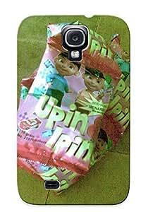 Hot Snap-on Tivi Upin Dan Ipin Edang Naik Daun Kayak Ulet Donkk Hehehhee Hard Cover Case/ Protective Case For Galaxy S4