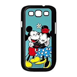 Disney Mickey Mouse Minnie Mouse Samsung Galaxy S3 9 Cell Phone Case Black y2e18-406444