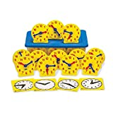 hand2mind Geared Clocks Classroom Kit (Set of 24)