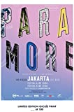 Lost Posters RARE POSTER jakarta PARAMORE indonesia 2018 REPRINT #'d/100!! 12x18