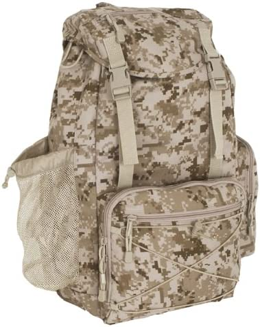 Marines Marpat Desert Digital Camo Rucksack