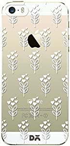 DailyObjects Blossom Sandy Clear Case For iPhone 5/5S