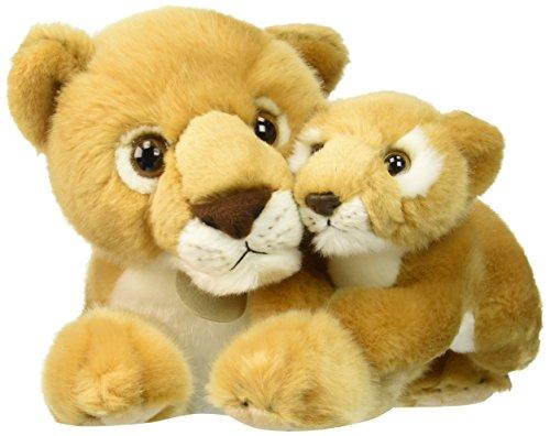 [Aurora World Miyoni Lioness with Cub Plush, 14