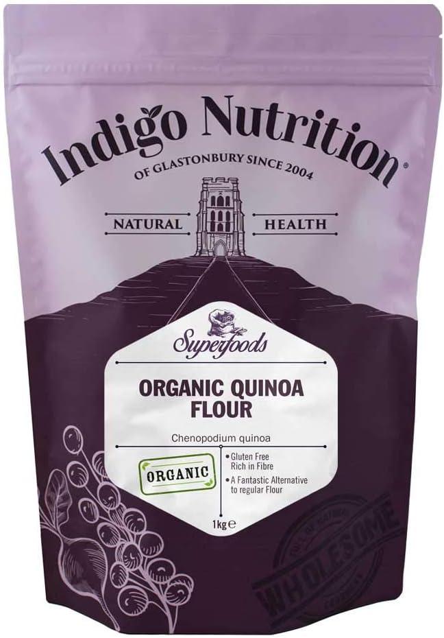 Harina de quinoa ecológica INDIGO NUTRITION (1 kg)
