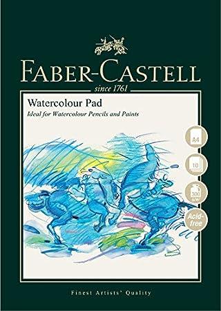 Faber Castell Art Graphic Spiralbindung Aquarellblock A4 300 G