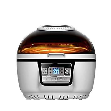 Freidora de aire Hogar Libre de aceite Automático Inteligente Papas fritas de gran capacidad Sartén electromecánica Sartén de aire doméstico: Amazon.es: ...