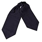 ERA7B03 Multicolor Mens Silk Ascot Checkered Cravat Sale for Marriage By Epoint