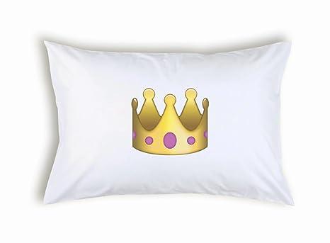 Amazon.com: Corona de Princesa emoticon Emoji funda de ...