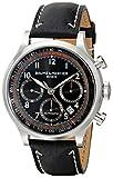 Baume & Mercier Men's 10001 Capeland Chronograph Black Chronograph Dial Watch