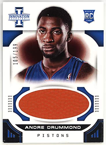 Andre Drummond 2012-13 Innovation Rookie Basketballs #45 NM-MT RC Rookie MEM #105/199 Pistons Basketball NBA from Innovation