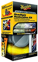 Meguiar\'s G3000 Heavy Duty Headlight Restoration Kit
