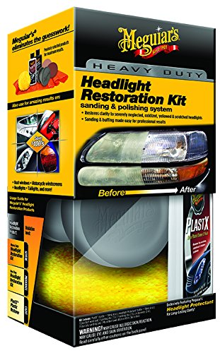 Amazon Com Meguiar S G3000 Heavy Duty Headlight Restoration Kit