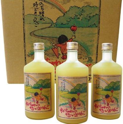 青森県産 ちいちゃんの想い出りんご リンゴジュース 720ml×6本入