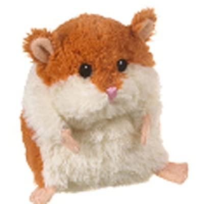 Ganz Brown & White Plush Lil' Hamster: Toys & Games