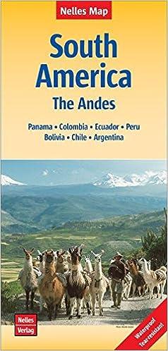 Nelles Map Landkarte South America: The Andes: reiß- und ...