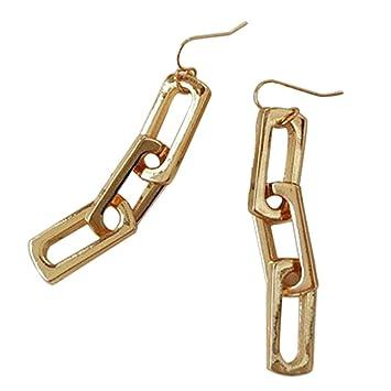 Outflower - Pendientes de cadena con diseño de pendientes ...