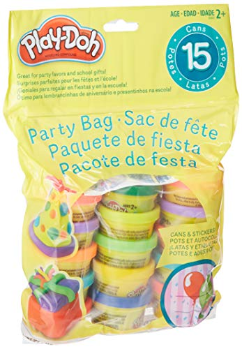 Play-Doh UPC 2 X Party Bag Dough, 15Count (Assorted Colors), 2 Pack]()