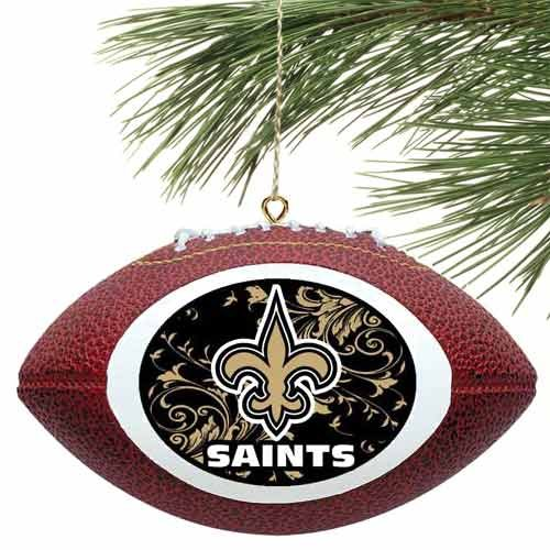 NFL New Orleans Saints Filigree Touchdown Mini Replica Football (New Orleans Saints Collectible Replica)