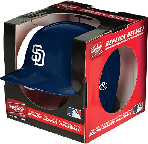 (MLB San Diego Padres Mini Replica Helmet, Blue)