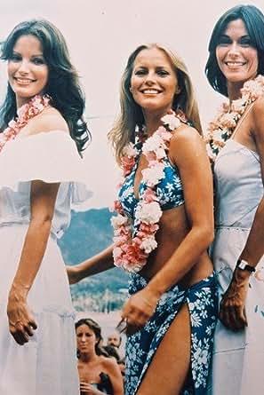 charlies angels hawaiian lei cheryl ladd bikini with