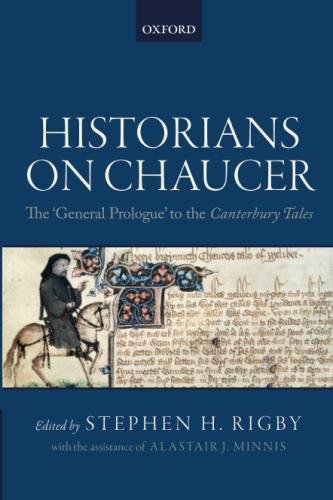[R.e.a.d] Historians on Chaucer: The 'General Prologue' to the Canterbury Tales P.P.T