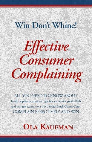 Effective Consumer Complaining