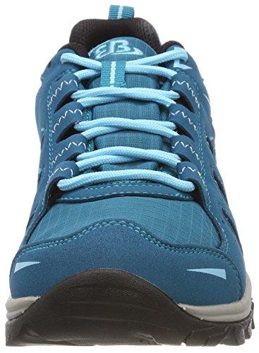Frakes Arrampicata Donna Petrol Scarpe Mount Bruetting Blu da Basse Blau Low 5XHqwnnUa