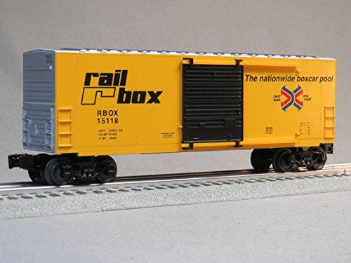 LIONEL PRR RAIL BOX HI CUBE BOXCAR o -