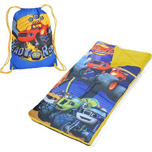 Disney Machines (Nickelodeon Blaze and the Monster Machines Sleeping Bag and Sling Bag Set)