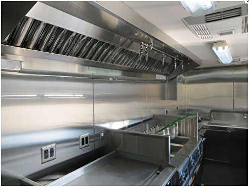 4ft mobile kitchen hood system with exhaust fan buy - Commercial kitchen vent hood designs ...