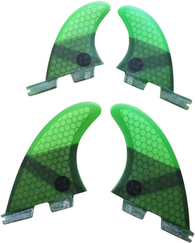 UPSURF FCS2 Quad Fin Set, Medium, versch. Farben wählbar!