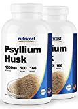 Nutricost Psyllium Husk 500mg; 500 Capsules (2 Bottles) Review