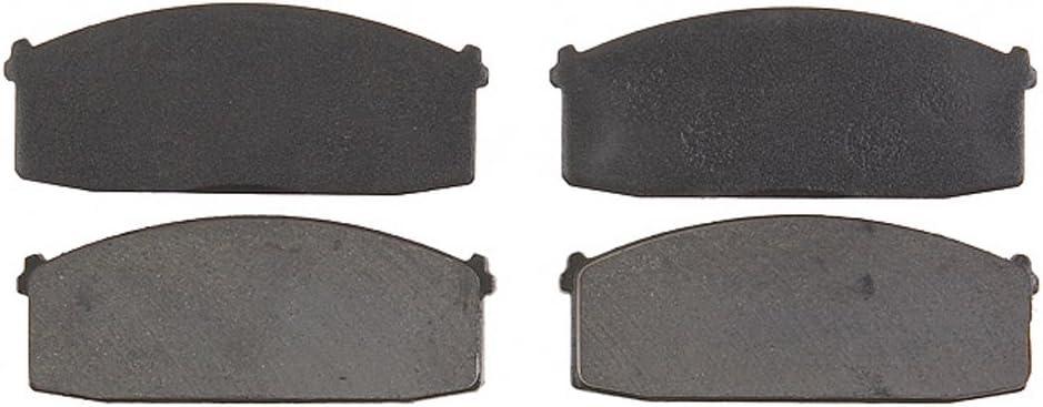 Raybestos PGD186 Professional Grade Organic Disc Brake Pad Set