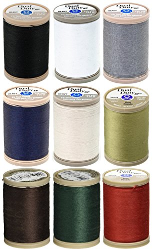 (9 Color Pack - Coats & Clark - Dual Duty XP Heavy Weight Thread 125yds)
