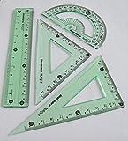Isomars Ruler Geometry Set (Green)